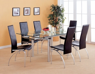 9-Piece Dining Set in Pearl Silver - Coaster
