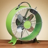 "9"" Retro - Lime Green - Deco Breeze - DBF0637"