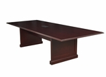 "96"" Rectangular Conference Table with Data/ Power Port - ROF-TVCTRC9648-MH"