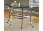 Abbington Console End Table with Glass Top - Hillsdale Furniture - 4885OTS