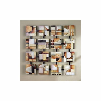 Abstract Squares Wall Art - Holly and Martin