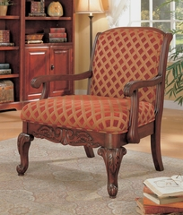Accent Chair in Cherry - Coaster