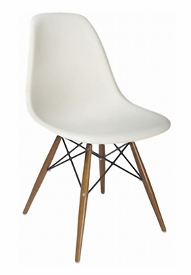 Accent Chair in White - DC-231V