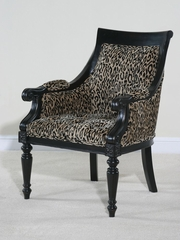 Accent Chair - Monty Ocelot Chair - Ultimate Accents - MONT-262