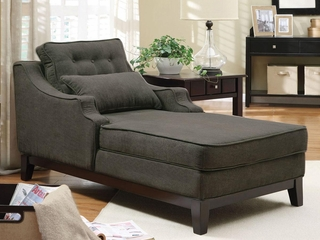 Accent Seating Upholstered Chaise - 500028