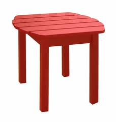 Accent / Side Table in Red - T-92248
