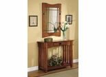 Accent Table & Framed Mirror Set - 950060