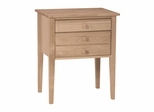 Accent Table with Drawers - OT-66
