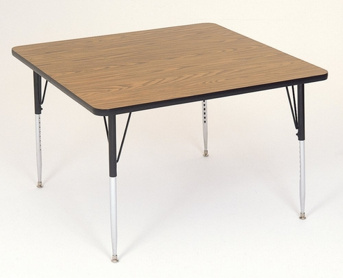 Activity Table in Medium Oak - Rectangular 24