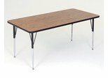"Activity Table in Medium Oak - Rectangular 30"" x 72"" - Correll Office Furniture - A3072-REC"