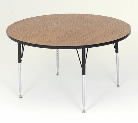 Activity Table in Medium Oak - Round 48