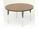 "Activity Table in Medium Oak - Round 48"" - Correll Office Furniture - A48-RND"