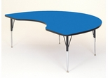 "Activity Table - Kidney Shaped 48"" x 72"" - Correll Office Furniture - A4872-KID"