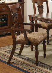 Addison Set of 2 Traditional Splat Back Arm Chair - 103513