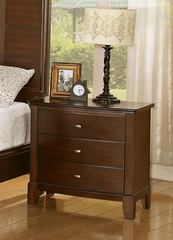 Addley Nightstand with 3 Drawers - 202452