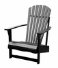 Adirondack Chair in Black - C-51902