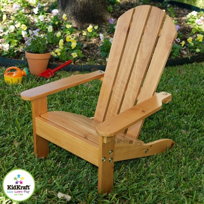 Adirondack Chair in Honey - KidKraft Furniture - 00083