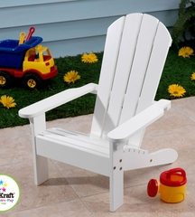 Adirondack Chair in White - KidKraft Furniture - 00081