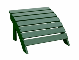 Adirondack Footrest in Hunter Green - S-51901