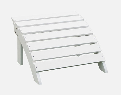 Adirondack Footrest in White - S-51900
