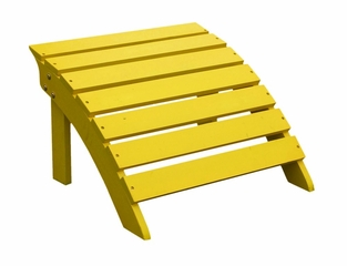 Adirondack Footrest in Yellow - S-51903
