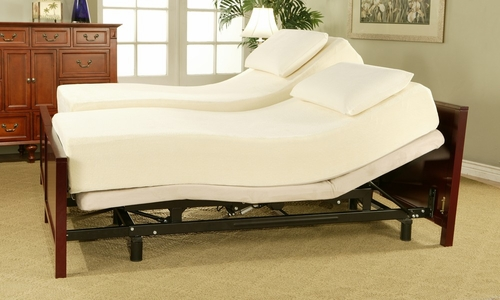 Adjustable Bed - Sleep Science Queen Size Adjustable Bed - South Bay International - AB-Q