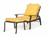 Adjustable Chair and Ottoman with Cushions - Florence - Caluco - C777-15G-SET
