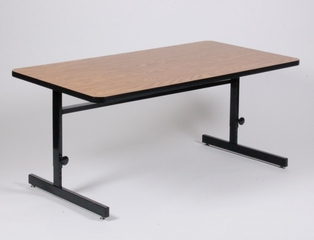 "Adjustable Height Computer Table 24"" x 72"" - Correll Office Furniture - CSA2472"