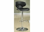 Adjustable Height Contemporary Bar Stool - Set of 2 - 120359