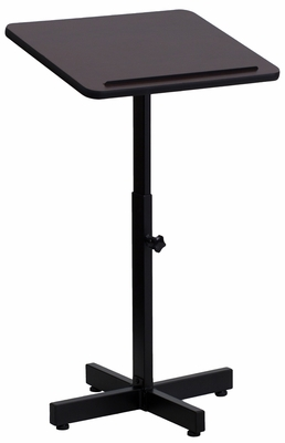 Adjustable Height Metal Lectern  - XU-LECTERN-ADJ-GG