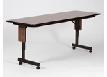 Adjustable Height Panel Leg Seminar Table 24x60 - Correll Office Furniture - SPA2460PX