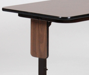 Adjustable Height Panel Leg Seminar Table 24x72 - Correll Office Furniture - SPA2472PX