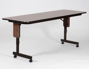 Adjustable Height Panel Leg Seminar Table 24x96 - Correll Office Furniture - SPA2496PX