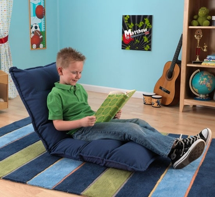 Adjustable Lounger in Denim - KidKraft Furniture - 18671