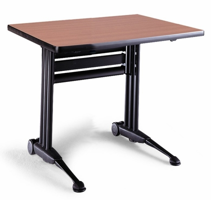 Adjustable Rectangular Table in Pearwood - Mayline Office Furniture - TT48RACRPBLK