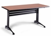 Adjustable Rectangular Table in Pearwood - Mayline Office Furniture - TT60RACRPBLK