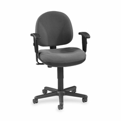 Adjustable Task Chair - Gray - LLR80005