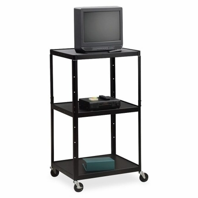 Adjustable TV Table - Black - HONPF54JP