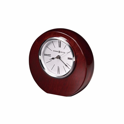 Adonis Quartz Table Clock in Rosewood Hall - Howard Miller