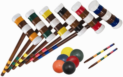 Advanced 6 Player Croquet Set - Franklin Sports