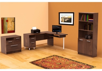 Aero Lite Home Office Furniture Set 1 - Nexera Furniture - AEROL-OSET-3