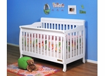AFG Baby Alice Convertible Crib with Toddler Rail White