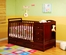 AFG Baby Daphne 3 in 1 Convertible Crib and Changer Cherry