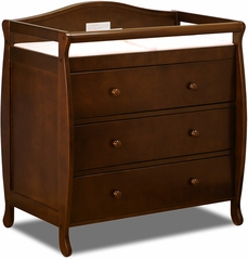AFG Baby Grace 3 Drawer Changer Espresso