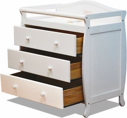 AFG Baby Grace 3 Drawer Changer White