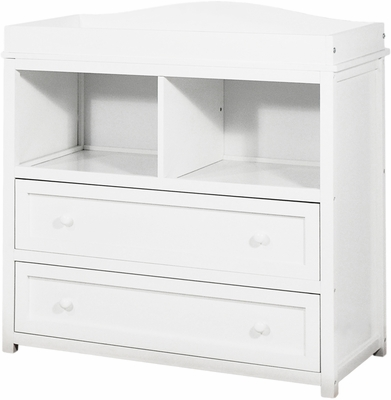AFG Baby Leila 2 Drawer Changer White