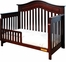 AFG Baby Lia Convertible Crib Cherry