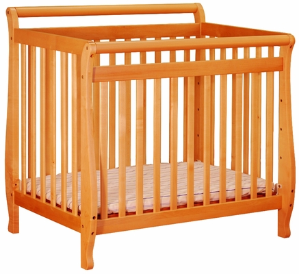 AFG Baby Mini Amy Crib Pecan
