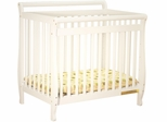 AFG Baby Mini Amy Crib White