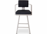 Akers Metal Swivel Bar Stool - Amisco - 41431-26